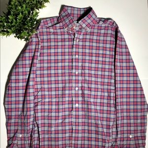 Vineyard vines mussel fit button up long sleeve